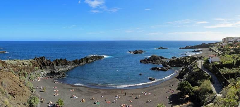 Панорамное фото океана и пляжа