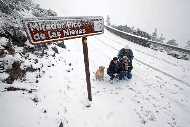 Пико зимой