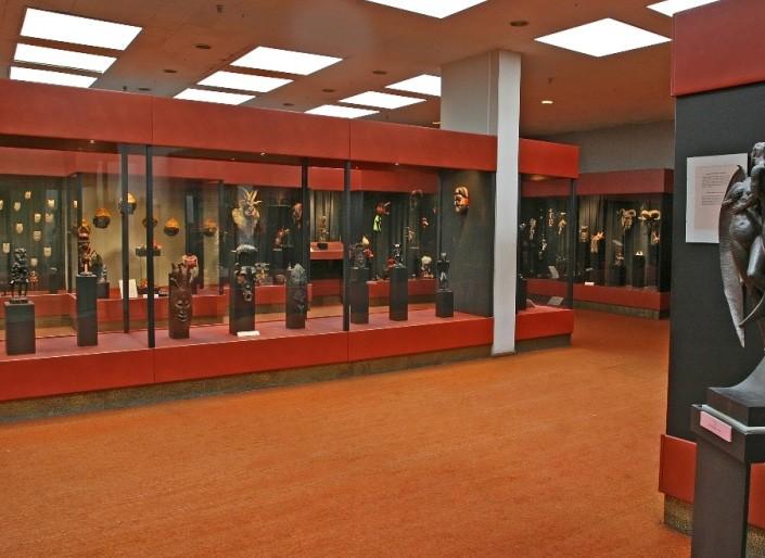 Экспозиция музея чертей