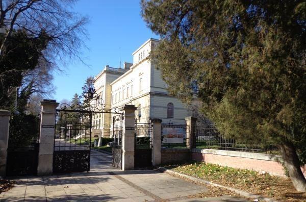 Вход на территорию музея