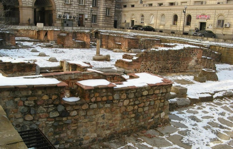 Руины Сердика