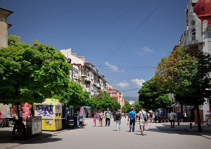 Бульвар в Варне