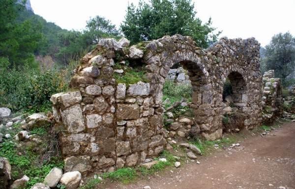 Руины города Олимп