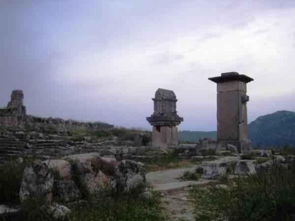 Древний город Ксантос