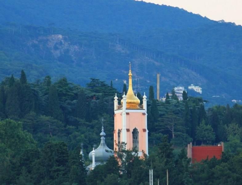 Вид на храм святого Иоанна Златоуста