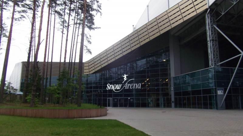 Ледовая арена в Друскининкае