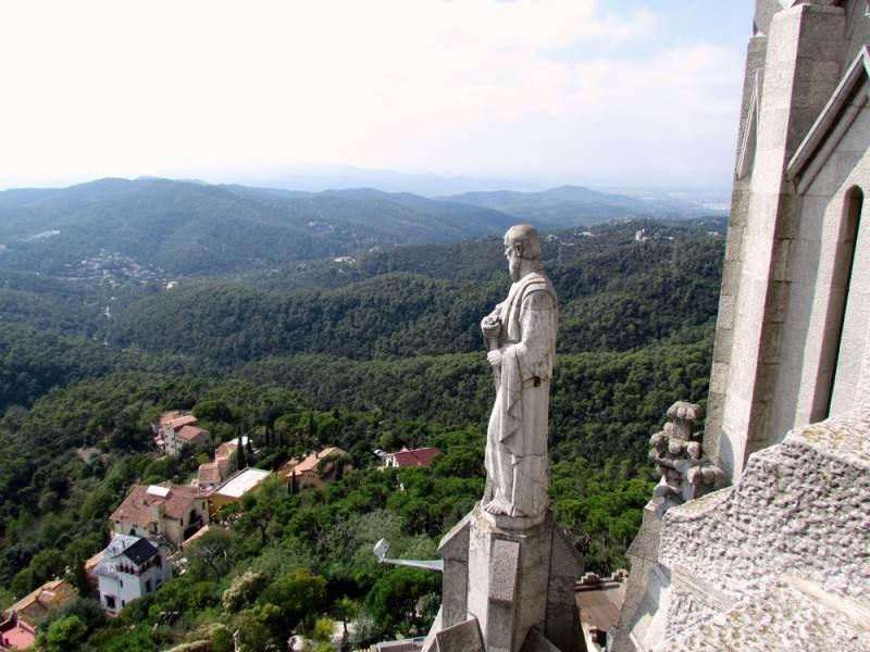 На верхней смотровой площадке Храма