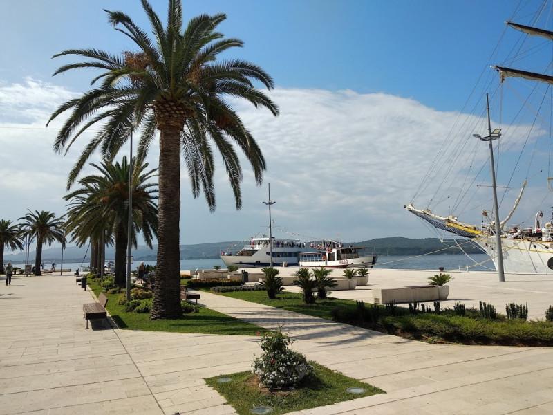 Порт Тивата - отсюда начинаются экскурсии