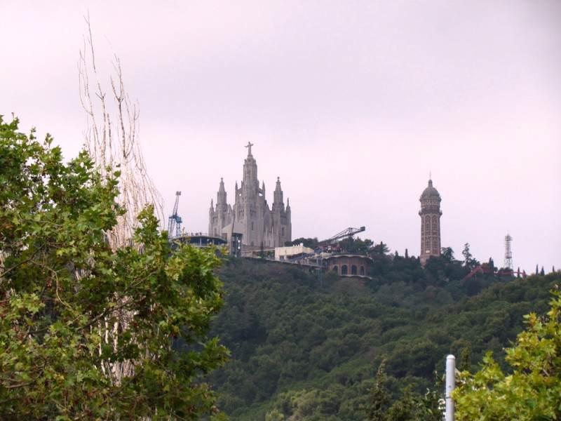 Вид на Храм с улиц города
