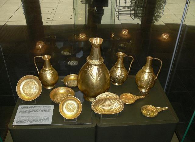 Экспозиция национального исторического музея Болгарии