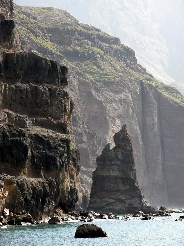 Теперешний вид скалы Dedo de Dios