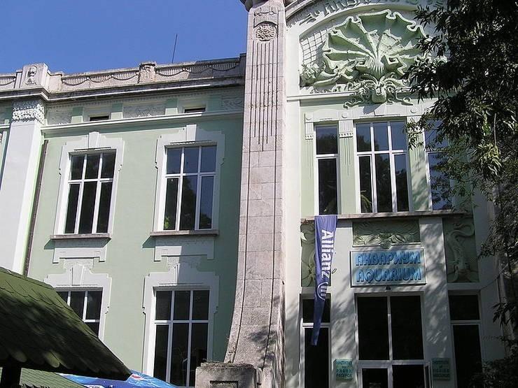Фасад Аквариума Варны