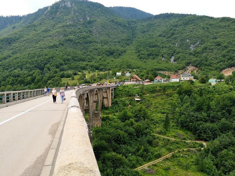 Пешие прогулки по мосту