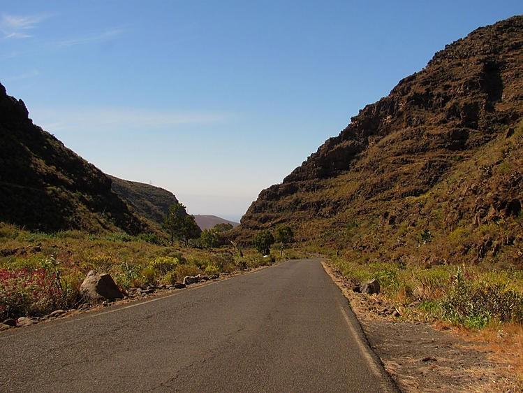 По дороге к ущелью Guayadeque