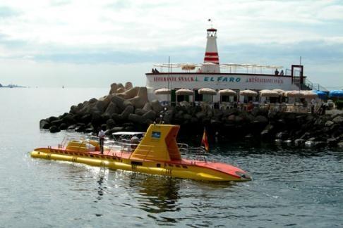Подводная лодка на Гран Канарии