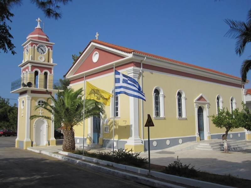 Церковь св. Герасима Кефалонийского в Скале