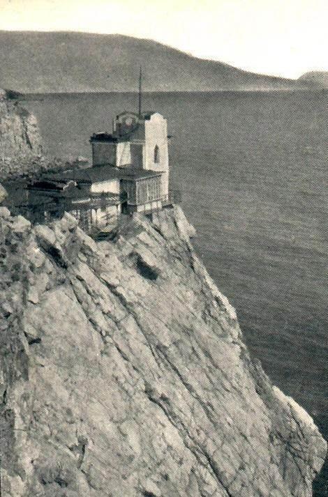 Ласточкино гнездо в XIX веке