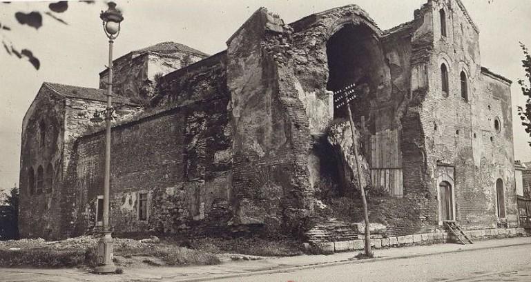 Разрешенный храм Св.Софии в 1915 году