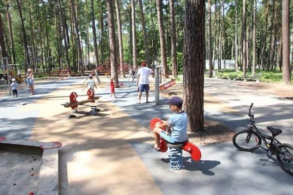 Лесопарковая зона «Дзинтари» в Юрмале