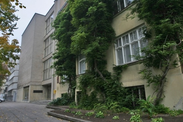 Здание музея чертей