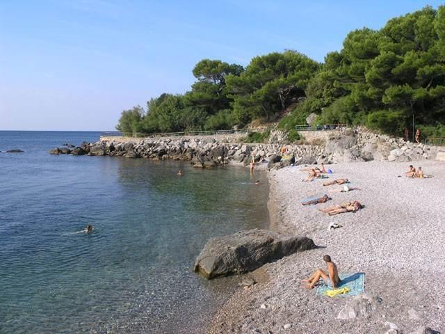 Пляжи посёлка