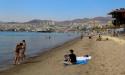 Немноголюдные пляжи Эйлата весной