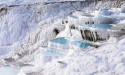 Белая скала Памуккале