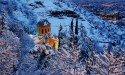 Снежный Тбилиси