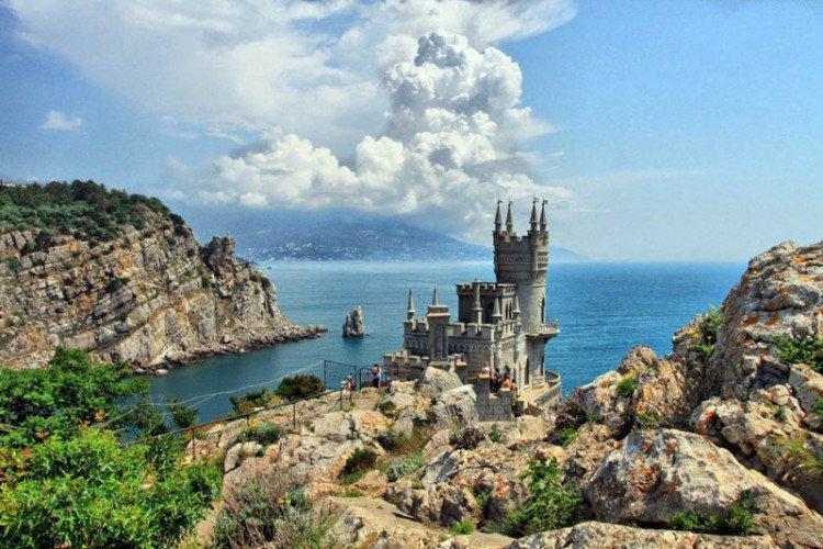 Крым в сентябре 13 ласточкино гнездо
