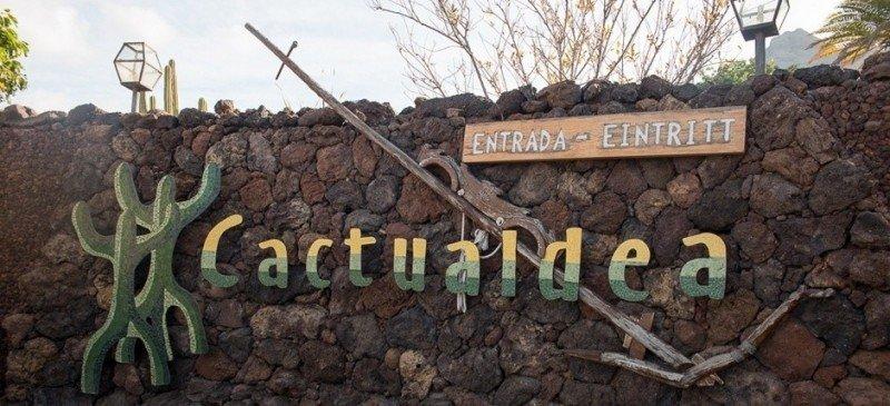 Вход в парк кактусов