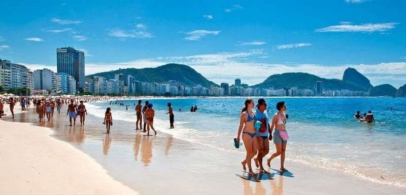 Бразилия в январе
