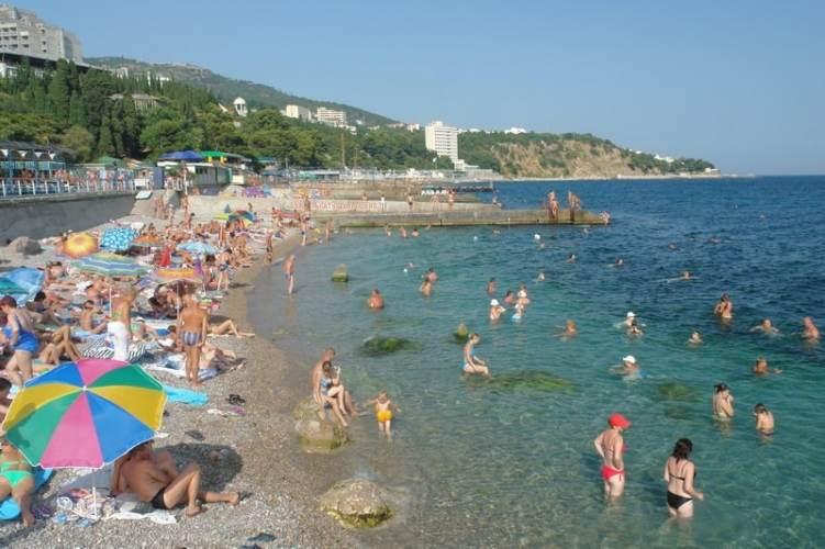 Лучшие пляжи Мисхора (Кореиза Крым: фото, отзывы, описания) 70