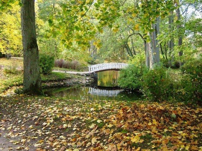 Парк красив не только летом