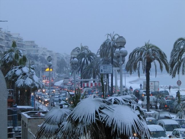 Франция в декабре