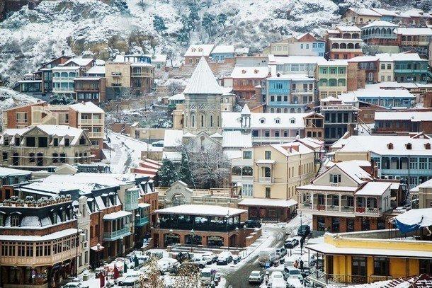 Грузия в декабре