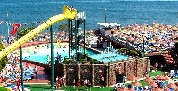 Самая высокая горка аквапарка