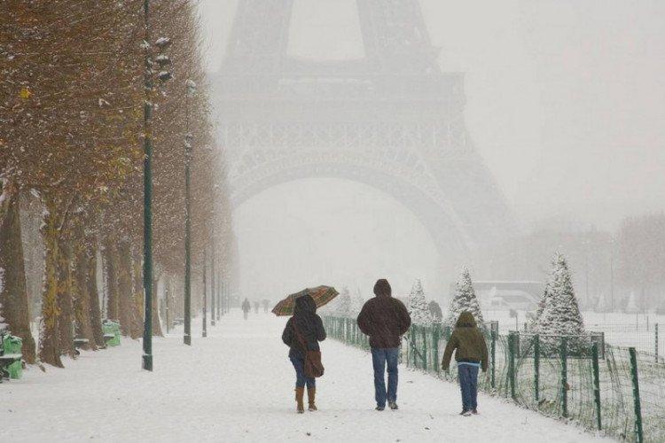 Франция в январе