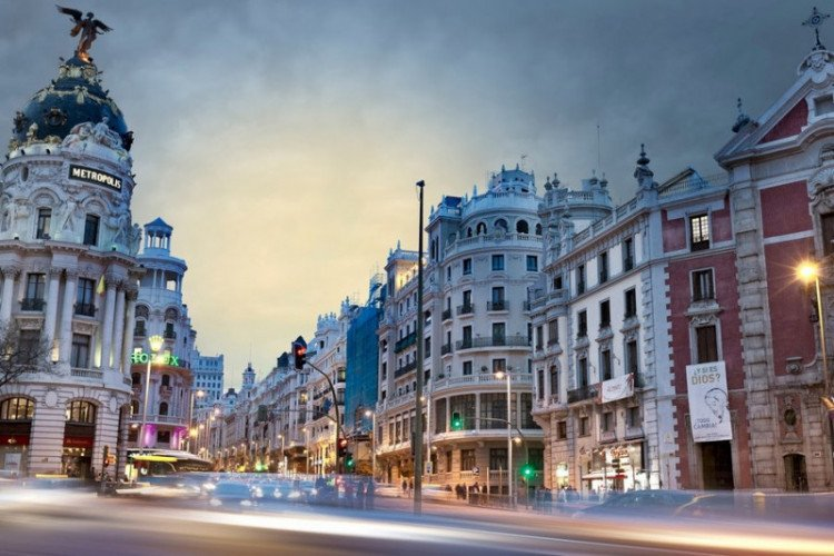 Испания в декабре