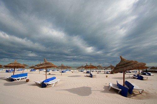 Тунис в январе