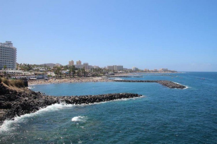 Панорама пляжа Эль Бобо (Троя)