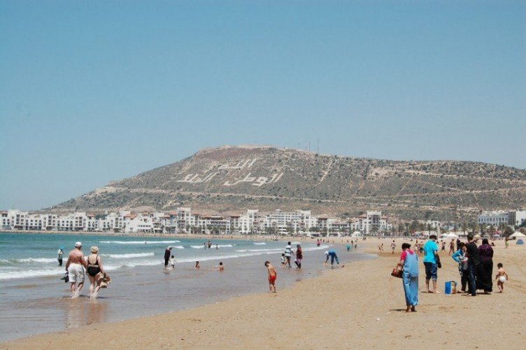 Марокко в августе