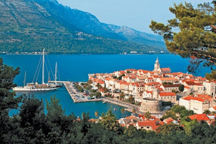 Хорватия в августе