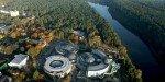 Аквапарк Друскининкая с высоты птичьего полёта