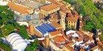 Вид сверху на Испанскую деревню