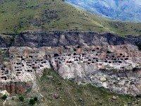 Вид на пещерный город
