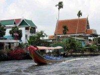 Экскурсия по каналам Бангкока на лодке