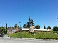 Памятник Ираклию II - знаменитый кадр к/ф