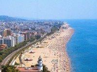 Знаменитые пляжи Барселоны