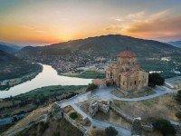 """Монастырь Джвари - то самое место, о котором пишет Лермонтов в поэме """"Мцыри"""""""