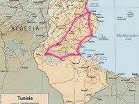 Один из маршрутов 2-дневной экскурсии в Сахару